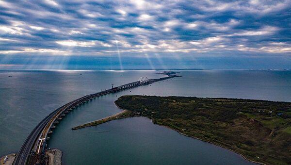 Крымский мост. Сентябрь 2018