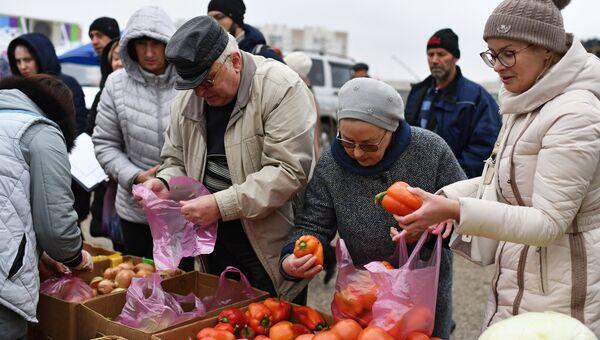 Сельскохозяйственная ярмарка в Симферополе