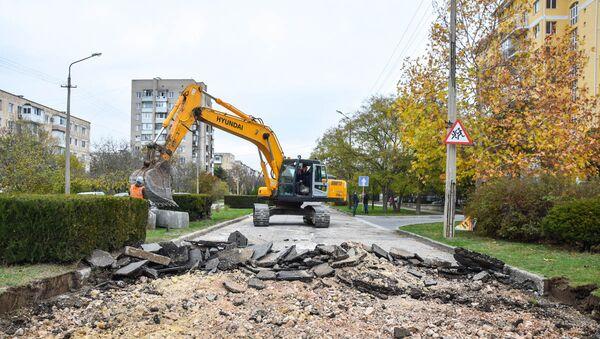 Реконструкция улицы Демышева в Евпатории