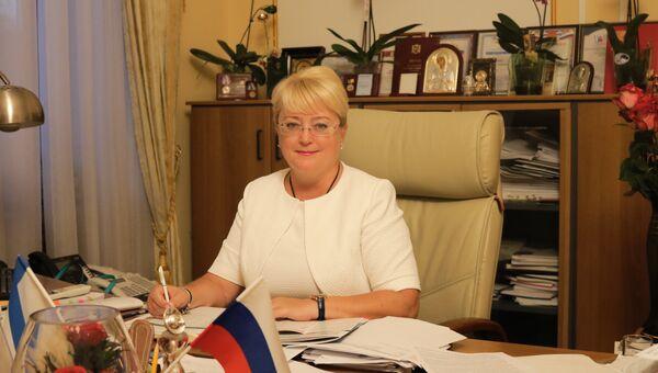 Заместитель председателя Совета министров Республики Крым – министр финансов РК Ирина Кивико