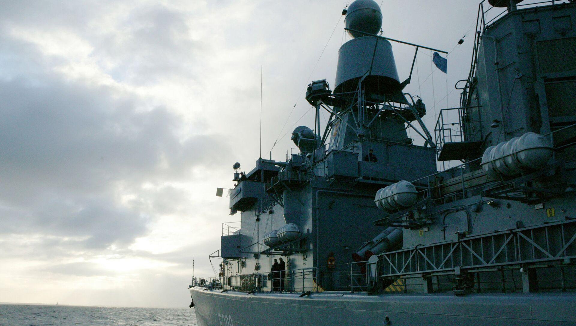 Боевые корабли НАТО совершили деловой заход в порт Балтийска - РИА Новости, 1920, 12.04.2021