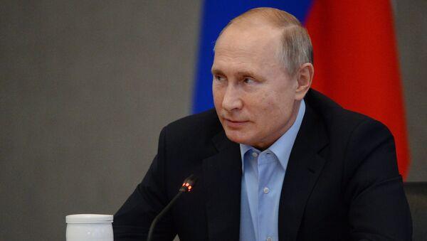 Расширенное заседание Госсовета РФ в Ялте под руководством президента России Владимира Путина. 23 ноября 2018