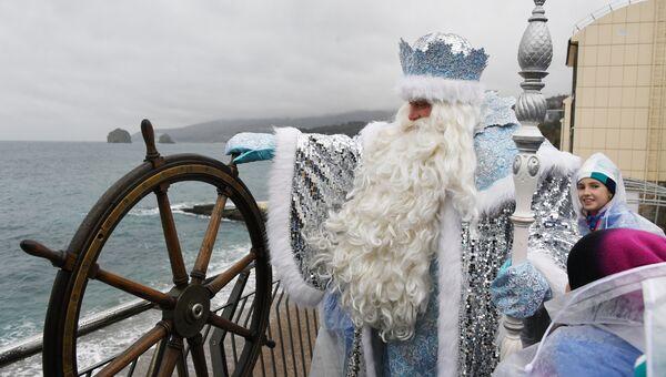 Дед Мороз в МДЦ Артек