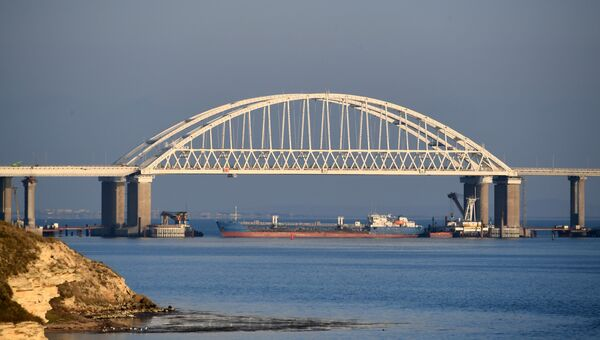 Временная остановка судоходства в Керченском проливе из-за провокации кораблей ВМСУ