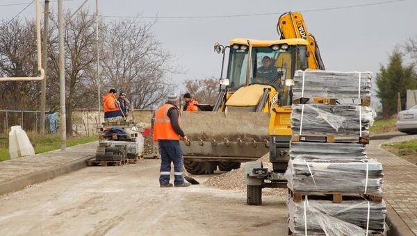 Ремонт дорог в Севастополе