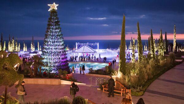 Новогодние каникулы в отеле в Крыму