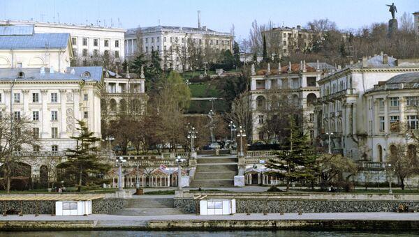Вид города Севастополя
