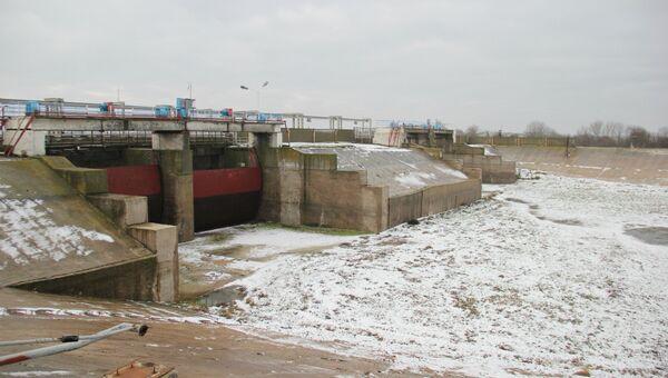 Северо-Крымский канал, декабрь 2018 года