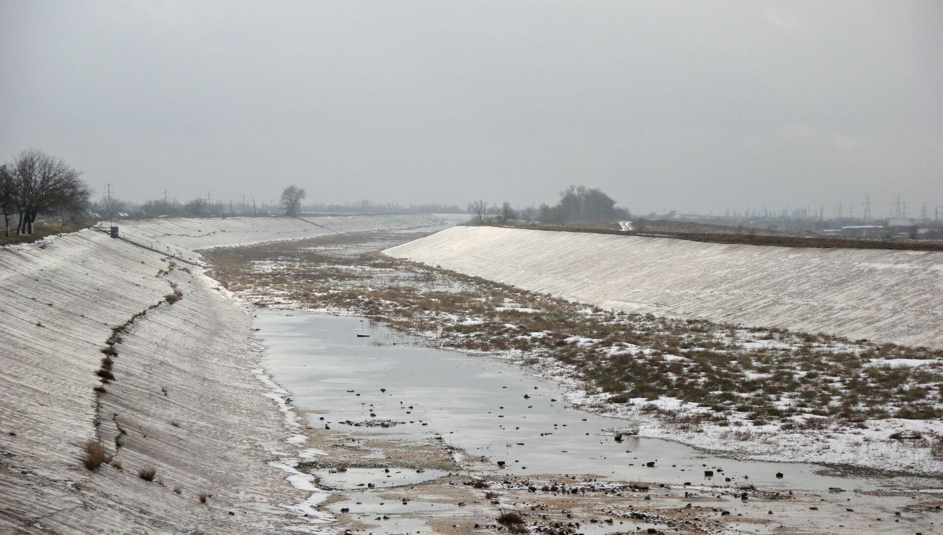 Северо-Крымский канал, декабрь 2018 года - РИА Новости, 1920, 17.02.2021
