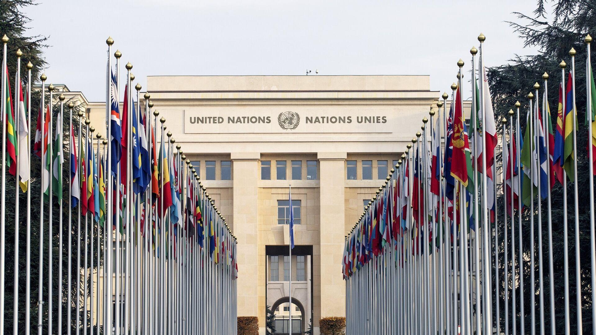 Штаб-квартира Организации Объединенных Наций  - РИА Новости, 1920, 12.10.2021