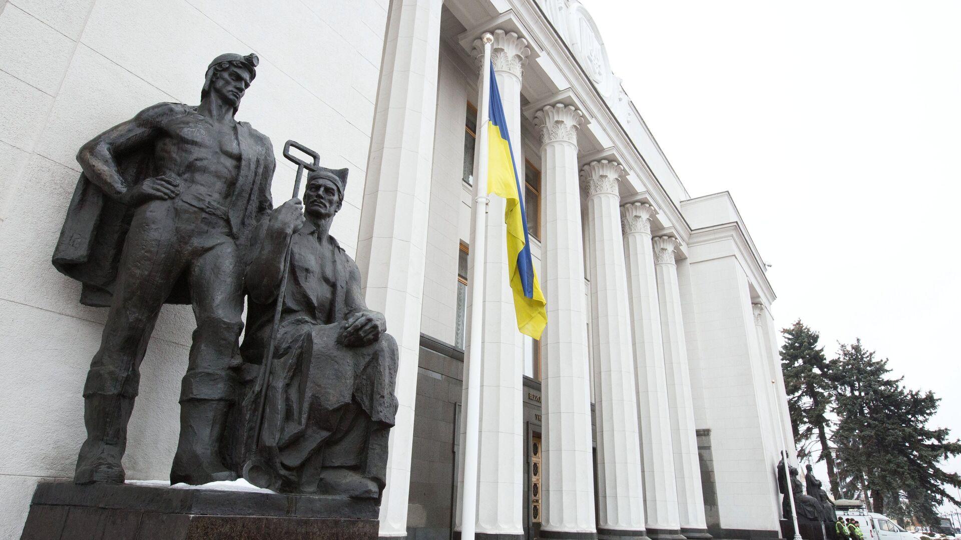 Здание Верховной рады Украины - РИА Новости, 1920, 08.09.2021