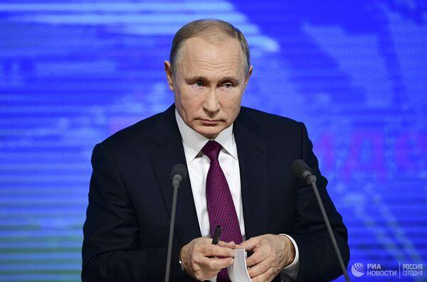 LIVE: Ежегодная пресс-конференция президента РФ Владимира Путина