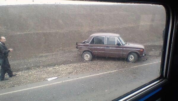 ДТП на трассе Симферополь-Феодосия