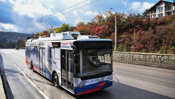 Троллейбус МИА «Россия сегодня» вышел на самый длинный маршрут в мире
