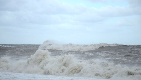 Шторм на море. Архивное фото