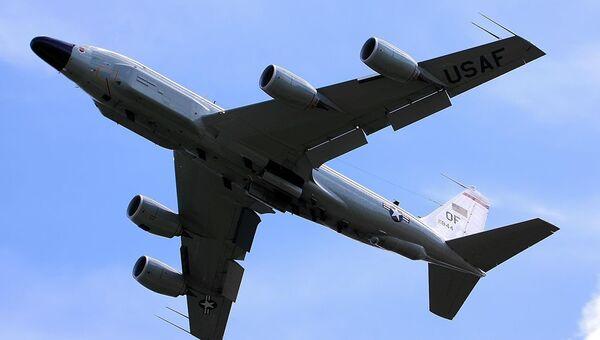 Американский самолет Boeing RC-135V
