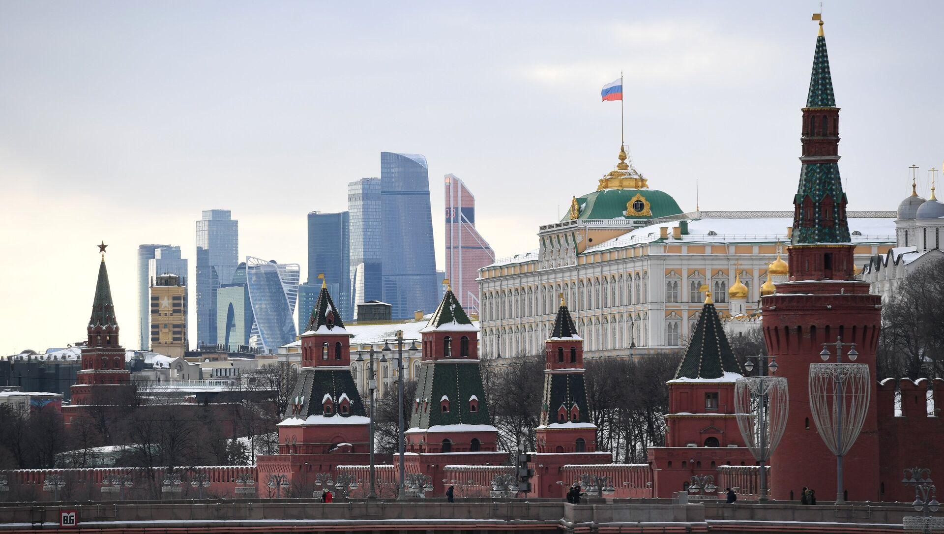 Московский Кремль и Кремлевская набережная - РИА Новости, 1920, 06.11.2020