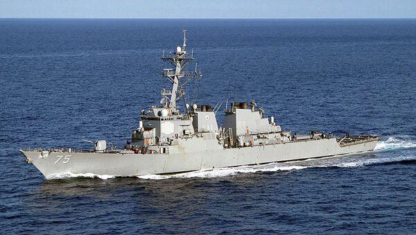 Эсминец ВМС США Дональд Кук. Архивное фото