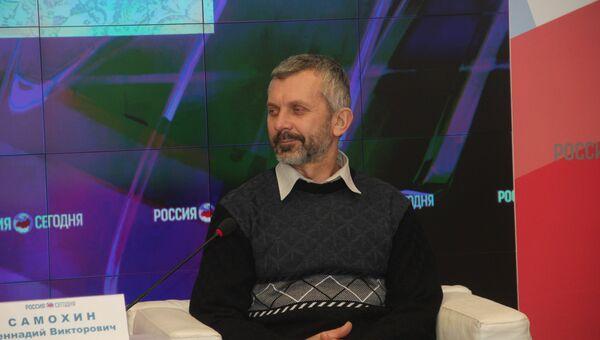 Председатель совета Российского союза спелеологов, преподаватель КФУ им. В. И. Вернадского Геннадий Самохин