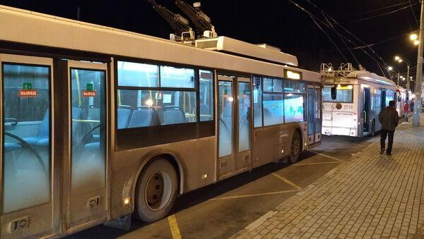 Троллейбусы в Симферополе. Архивное фото.