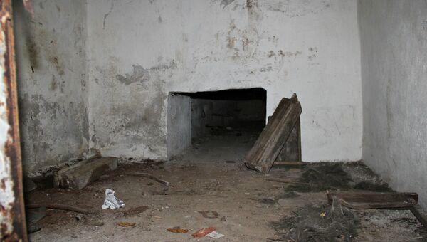 В запасном штабе гражданской обороны, построенном в Симферополе во времена холодной войны