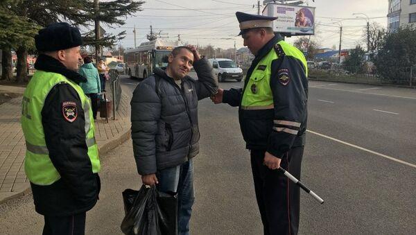 Сотрудники ГИБДД провели в Крыму профилактическое мероприятие Пешеход! Внимание!