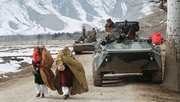 Поэтапный вывод ограниченного контингента советских войск из Афганистана. Первая колонна советских войск отправляется на Родину. Перевал Саланг. 14 мая 1988 года