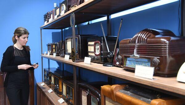 Выставка радиоприемников