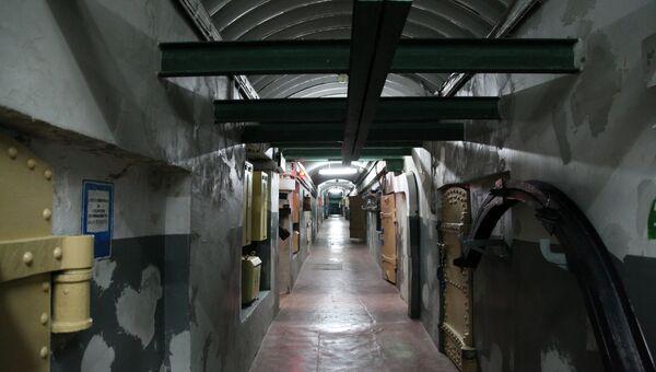 Подземные коридоры 30-й береговой батареи в Севастополе