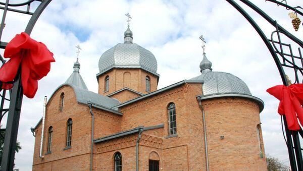 Свято-Георгиевский храм канонической Украинской православной церкви в селе Кульчин Волынской области