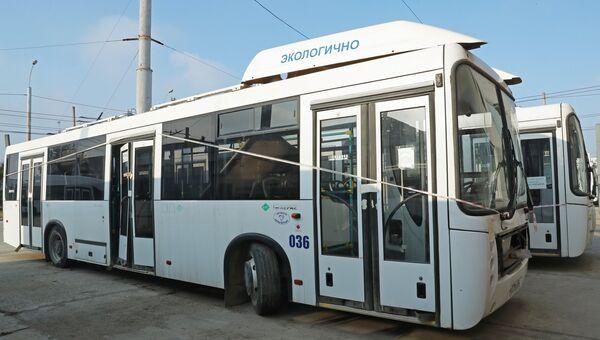 Автобусы МУП Керчьгортранс