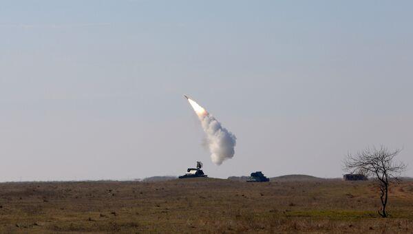 В Херсонской области украинские военные провели испытания зенитных ракет.