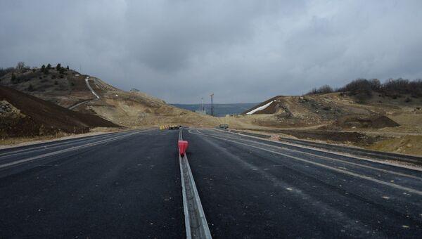 Строительство трассы Таврида в Севастополе