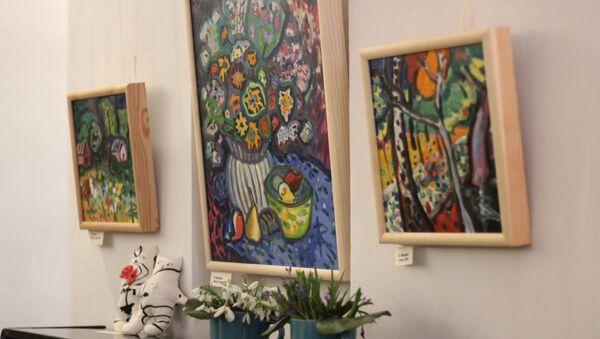 Выставка Девичник в доме-музее Александра Грина в Феодосии