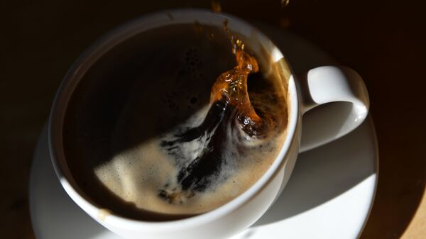 Чашка кофе.