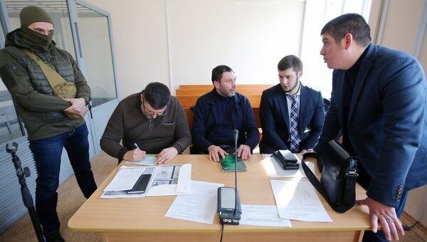 Рассмотрение дела журналиста К. Вышинского в Херсонском суде