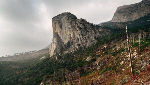 Соколиная гора на Южном берегу Крыма