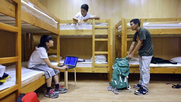 Постояльцы в хостеле. Архивное фото