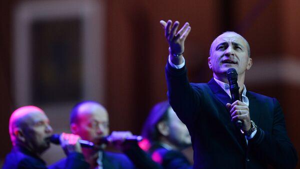 Выступление хора Турецкого