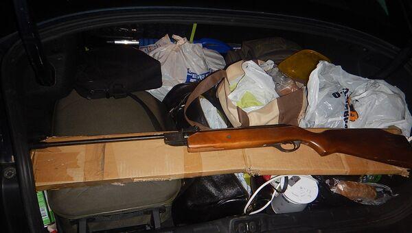Крымские таможенники изъяли на границе винтовку