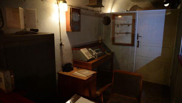 В одном из помещений подземного Спецобъекта №2 в Севастополе
