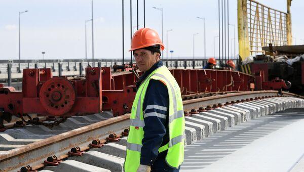 Строитель моста через Керченский пролив