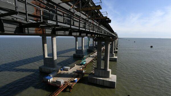 Опоры Крымского моста