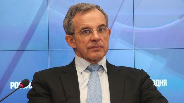 Президент Ассоциации Франко-российский диалог, бывший министр транспорта, кандидат на выборы в Европарламент Тьерри МАРИАНИ (Франция)