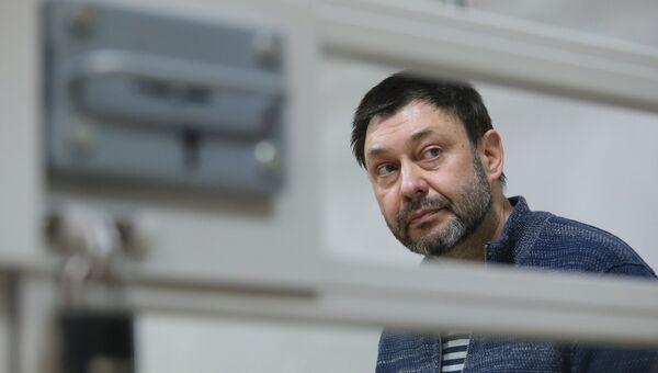 Руководитель портала РИА Новости Украина Кирилл Вышинский в Херсонском апелляционном суде