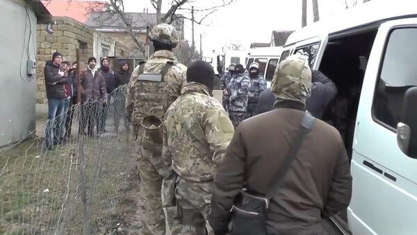 Задержание участников международной террористической организации Хизб ут-Тахрир аль-Ислами* в Крыму