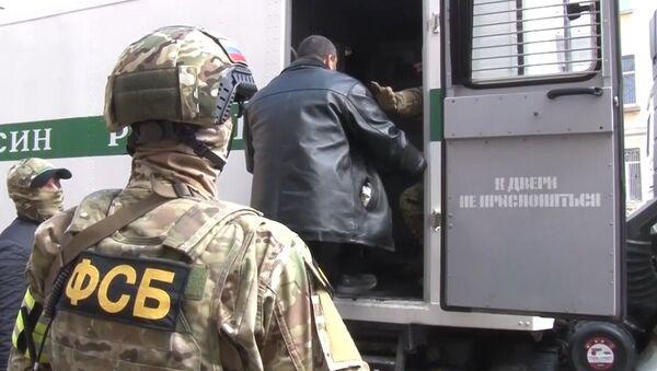 Видео задержания участников Хизб ут-Тахрир аль-Ислами* в Крыму