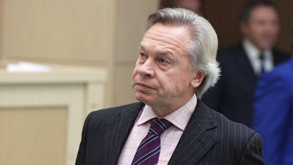 Сенатор, член Комитета Совета Федерации по конституционному законодательству и государственному строительству Алексей Пушков