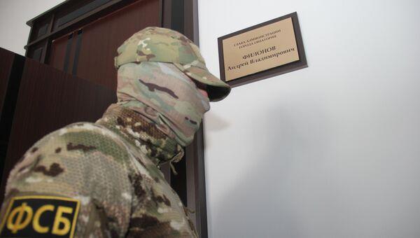 Следственные действия в отношении главы администрации Евпатории Андрея Филонова