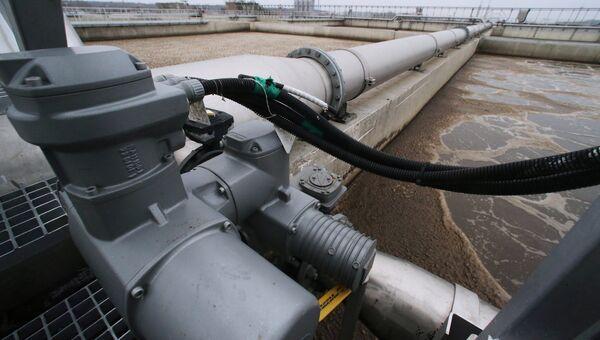 Сооружения биологической очистки сточных вод водоочистной станции. Архивное фото